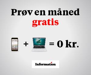 Information - Prøv e-avisen gratis i 1 måned