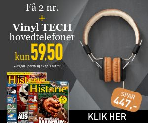 HISTORIE + Vinyl TECH hovedtelefoner