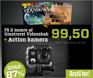 Illustreret Videnskab + PROX11 Full HD Action kamera