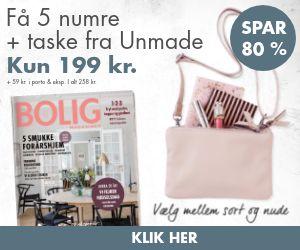 Bolig Magasinet + Unmade Copenhagen clutch