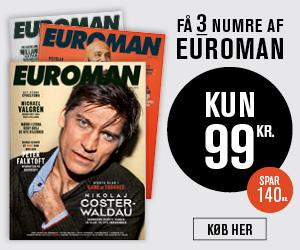 Euroman - Få 3 blade for kun 99 DKK