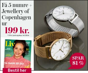 Magasinet Liv + Jewellery of Copenhagen ur