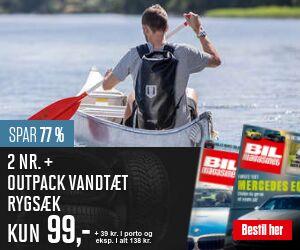 Bil Magasinet + Vandtæt Rygsæk