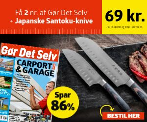 Gør Det Selv  + Japanske Santoku-knive