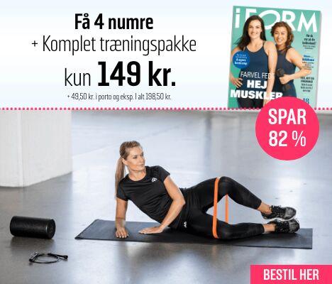 I FORM + Træningspakke