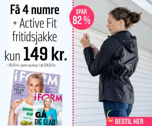 I FORM + Active Fit fritidsjakke