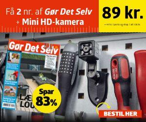 Gør Det Selv + Mini HD-kamera