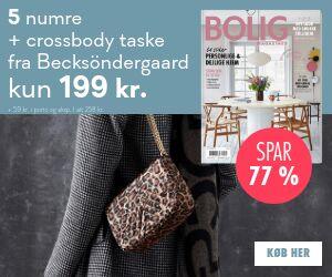 Bolig Magasinet + Becksöndergaard crossbody taske