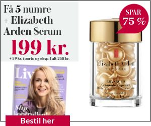 Magasinet Liv + Elizabeth Arden Serum