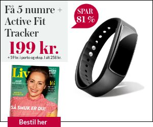 Magasinet Liv + smart aktivitetsur