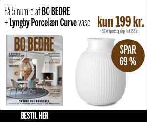BO BEDRE + smuk Curve Vase fra Lyngby Porcelæn