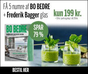 BO BEDRE + 4 flotte glas fra Frederik Bagger