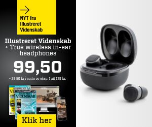 Illustreret Videnskab + True Wireless in-ear