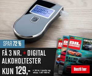Bil Magasinet + Digital Alkoholtester