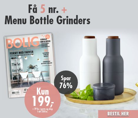 Bolig Magasinet + Menu Bottle Grinder