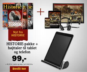 HISTORIE + 2-i-1 højttaler til tablet og mobil