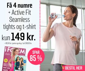 I FORM + Active Fit - Seamless tights og T-shirt