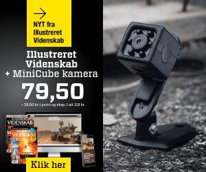Illustreret Videnskab + MiniCube kamera