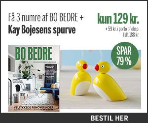BO BEDRE + Kay Bojesens spurve