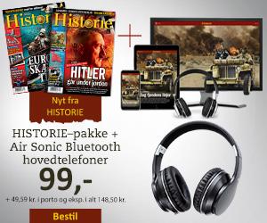 HISTORIE + Air Sonic bluetooth hovedtelefoner