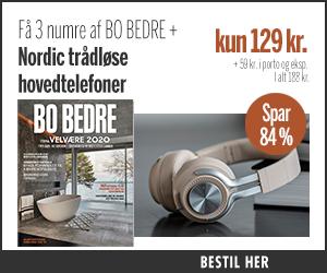 BO BEDRE + Nordic trådløse hovedtelefoner